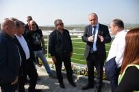 MURAT YıLDıZ - Bulgar Belediye Başkanları TESKİ Tesislerini Gezdi