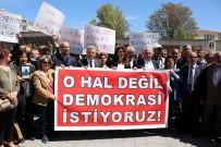 ASKERI DARBE - CHP'den 'OHAL' Protestosu