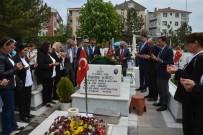 DAĞLıCA - CHP'den Ortacalı Yüzbaşının Kabrine Ziyaret