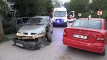 BEYKÖY - Düzce'de Trafik Kazası Açıklaması 4 Yaralı