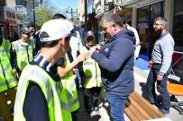 POLİS ŞAPKASI - Engelli Çocuklar Bir Günlüğüne Polis Oldu