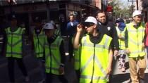 POLİS HAFTASI - Engelli Öğrenciler Polisin Uygulama Çalışmasına Katıldı
