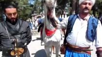 Eskişehir'den Bilecik'e Dedelerini Ziyarete 'At'la Geldiler