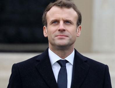 Fransa Cumhurbaşkanı Macron'dan ilginç açıklama