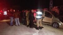Gaziantep'te Tır İle Hafif Ticari Araç Çarpıştı Açıklaması 1 Ölü