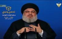 HASAN NASRALLAH - Hizbullah Genel Sekreteri Nasrallah Açıklaması 'ABD Ve Müttefikleri Suriye'de Hedeflerine Ulaşamadı'