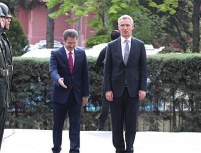 NATO Genel Sekreteri Ankara'da