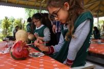 YEŞILÖZ - Öğrenciler Su Kabağı Boyama Ve Tuval Çalışmalarına Başladı