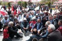 OHAL Protestosu İçin Cacabey Meydanında Oturma Eylemi Yaptılar