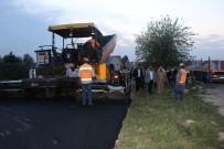 KONUKLU - Şanlıurfa-Karaali Yolunda Asfaltlama Çalışmaları Sürüyor