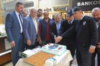 POLİS HAFTASI - Soygun İhbarına Giden Polise Pasta Süprizi
