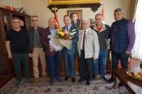 AYDIN DOĞAN - Tava Ciğer Ustalarından Başkan Gürkan'a Ziyaret