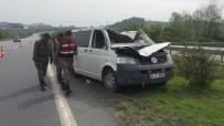 Tem Otoyolunda Kaza Açıklaması 5 Yaralı