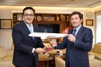 ORHAN TAVLı - Vali Tavlı'dan Türk Hava Yollarına Ziyaret