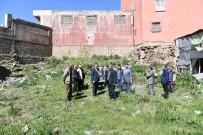 EMLAK VERGİSİ - Yıldızlı Han Restorasyonu İçin İlk Kazma Vuruldu
