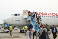 ALI SıRMALı - Adıyaman'dan 95 Öğrenci Havayolu İle Balıkesir'e Geldi