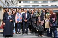 ÇOCUK BAKIMI - AK Parti Melikgazi Kadın Kollarından Melikgazi Belediyesine Ziyaret
