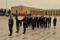 ÖZGÜR BAYRAKTAR - ASO'nun Yeni Yönetimi Anıtkabir'i Ziyaret Etti