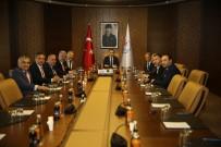 AHMET AĞAOĞLU - Bakan Osman Aşkın Bak, Trabzonspor Yönetimini Kabul Etti