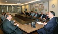 NIHAT YıLDıRıM - Balalılardan Başkan Taşdelen'e Ziyaret