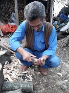 Boş Vakitlerinde Ağaçtan Mutfak Aletleri Yapıyor