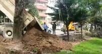 Düzce Belediyesi Parklarda Çalışma Yapıyor