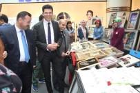 KÜLTÜR SANAT - Elazığ'da 'KYK Kültür Sanat Sokağı' Sergisi
