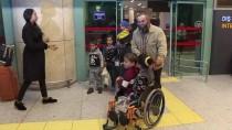 ESENBOĞA HAVALIMANı - Gazzeli Engelli Kardeşler Türkiye'de