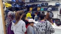 Gurbetçiler Çocuklara Kıyafet Yardımında Bulundu