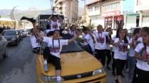 Hakkari'de Kadın Futbolcuların 1. Lig Sevinci