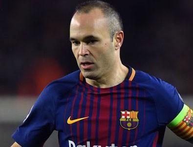 Iniesta Barcelona'dan ayrılıyor