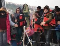 KAÇAK GÖÇMEN - Kuşadası Körfezi'nde 49 Kaçak Göçmen Yakalandı