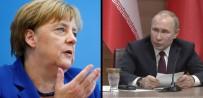 ANGELA MERKEL - Merkel ve Putin'den Suriye görüşmesi