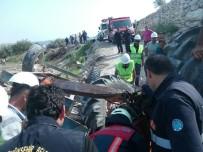 Mersin'de Traktör Kazası Açıklaması 3 Yaralı