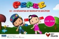 KÜÇÜKLÜK - Minikler, 67 Burda AVM'de 'Pepee' İle Eğlenecek