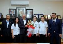 SAĞLIK MESLEK LİSESİ - Özel Şahin Sağlık Meslek Lisesi'nden Başkan Dişli'ye Ziyaret