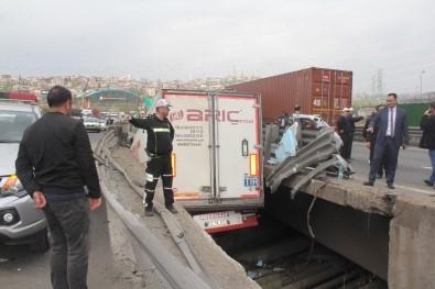 Protokol eşlerini taşıyan minibüs kaza yaptı: 1 ölü, 10 yaralı