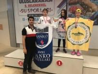 KURBAĞA - SANKO'lu Yüzücülerden Rekor