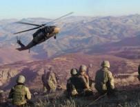 Siirt Pervari'de 7 terörist öldürüldü