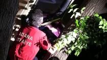 Sulama Kanalına Düşmek Üzere Olan Araçtaki 4 Kişi Kurtarıldı