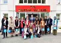Yabancı Ülkelerden Gelen Öğrencilerden Vali Büyükakın'a Ziyaret