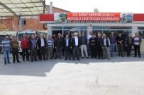 KAMYONCULAR - Yozgatlı Nakliyeciler Kontak Kapattı