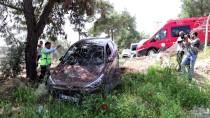SEYHAN NEHRİ - Adana'da Kontrolden Çıkan Aracı Tel Örgüler Durdurdu