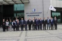 SANAYİ BÖLGELERİ - Ankara Üniversitesi Rektörü Ve Akademisyenleri ASO 1. OSB'yi Ziyaret Etti