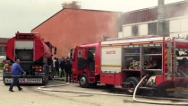İMALATHANE - Bartın'da Defne Yaprağı İşleme Fabrikasında Yangın
