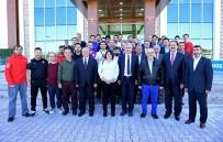 Başkan Polat, Tekvando Şampiyonası İçin  Gelen Heyeti Ağırladı