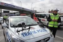 OKMEYDANı - Drone İle Yapılan Trafik Denetimi Sürücülere Göz Açtırmıyor