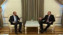 AZERBAYCAN - Gençlik Ve Spor Bakanı Bak İle Bilal Erdoğan Aliyev'le Görüştü