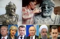 FRANSA CUMHURBAŞKANI - Heykeltıraş Murat Alınak Açıklaması 'Suriye Barışı İçin Ortak İdolünüz Selahaddin Eyyubi Olsun'