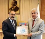 Irak Türkmen Cephesinden Gaün Rektörü Prof. Dr. Gür'e Takdirname